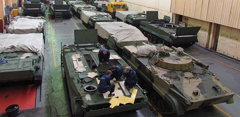 Производство бронетехники на Курганмашзаводе