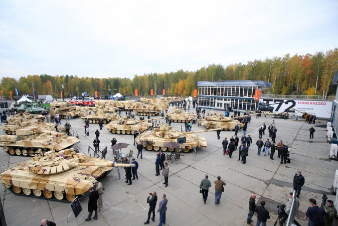 Выставка Russia Arms Expo (RAE)