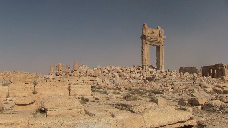 Руины храма Баала. Пальмира, Сирия