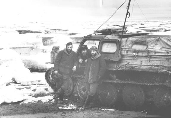 ГАЗ-47 на Котельном