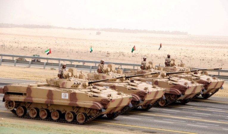 Модернизированные БМП-3 на вооружении ОАЭ