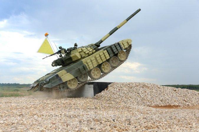 Танковый биатлон в рамках Армейских международных игр