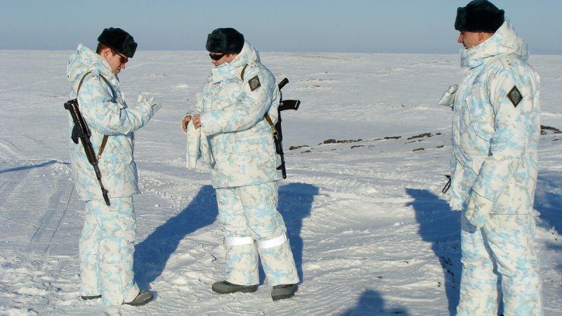 Арктический комплект формы