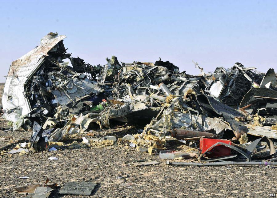 Жители Америки назвали основной версией крушения A321— взрыв наборту
