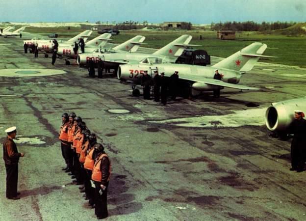 Советские летчики в Корее