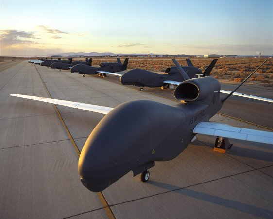 Стратегический БПЛА RQ-4 Global Hawk (США)