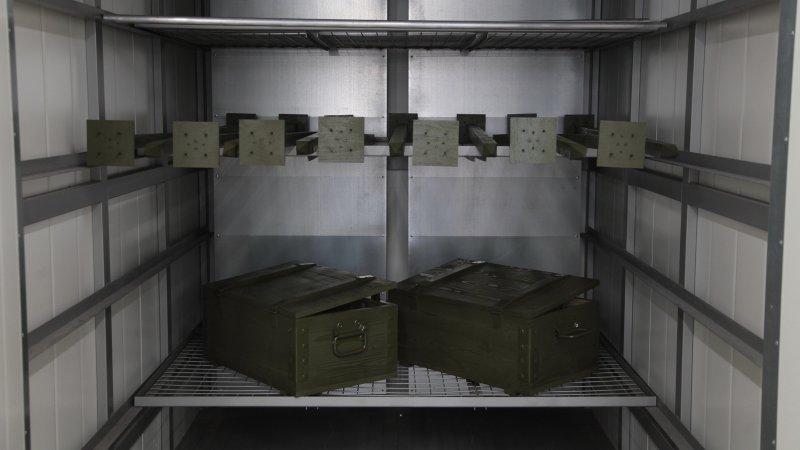 Подготовка боеприпасов к транспортировке