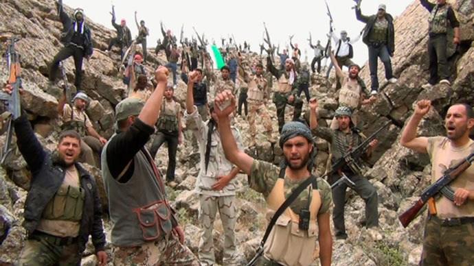 Бойцы Сирийской свободной армии