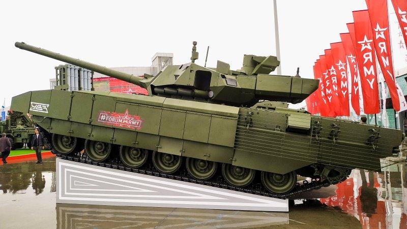 """Танк Т-14 (ОКР """"Армата"""") на форуме """"Армия-2019"""""""