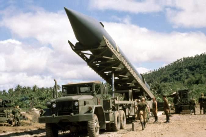 Советская ракета на Кубе